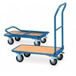 Ročni transportni vozički se uporabljajo za enostaven transport težjih predmetov.